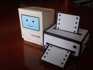 ordenador de papel